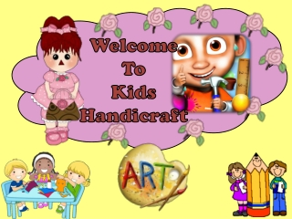Kids HandiCraft Free Kids Game: Create your Imagination Toda