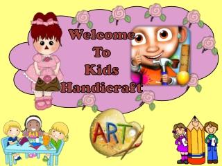 Kids HandiCraft Free Kids Game: Create your Imagination Toda