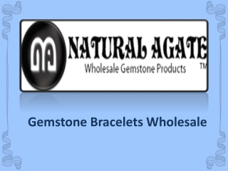 Gemstone Bracelets Wholesale