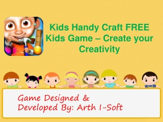 Kids Handy Craft FREE Kids Game