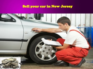 Sell your car in New Jersey