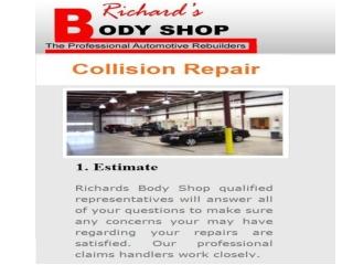Richard Body Shop - Collision Repair Services