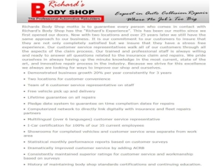Richards Body Shop on North - Professional Auto Services