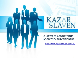 Kazar Slaven - Chartered Accountants