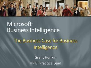 the business case for business intelligence