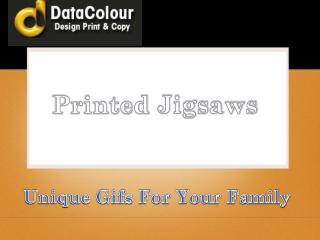 Printed jigsaw - datacolour