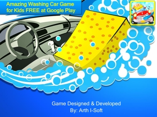Amazing Washing Game for Kids FREE at Google Play