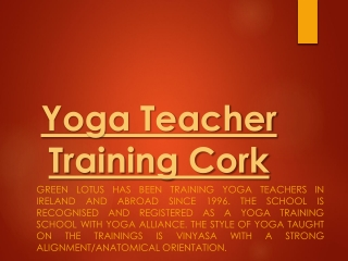 Beginners Yoga classes Cork