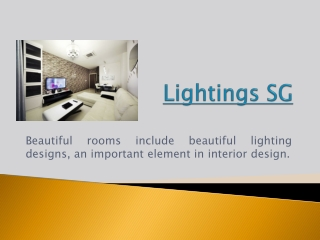 Lighting Design Singapore