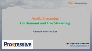 Media Streaming on AWS