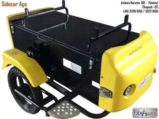 Sidecar Aço, Carretinha Lateral Moto