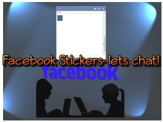 Facebook Stickers- lets chat!