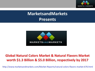 Natural Colors Market