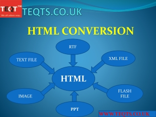 Outsourcing HTML Conversion Service Provider Company