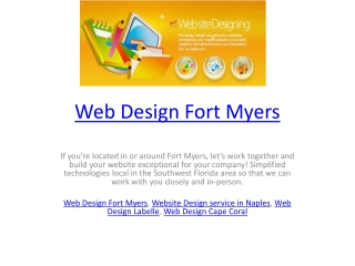 Web Design Fort Myers