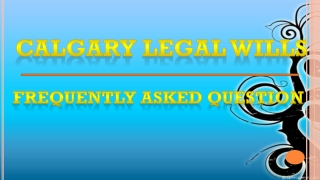 Calgary Legal Wills Question - Tracking a Deceased Relative'