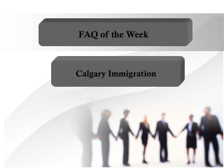 Canada Immigration Questions