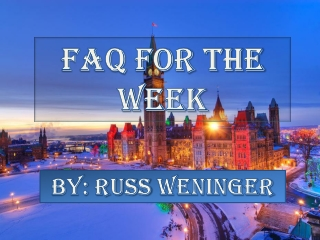 Canada Immigration FAQ - Permanent Residency