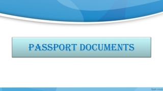 Alberta Notary Public - Applying for Passport