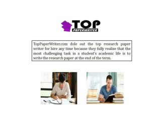 Excellently Academic Writing Services for Term Papers
