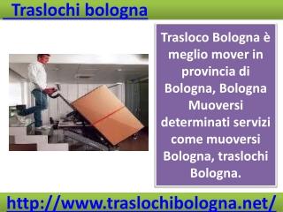 Traslochi bologna