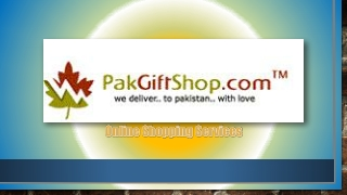 Online Gift Shop in Pakistan