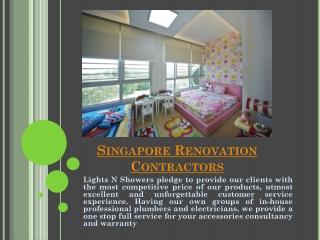 Singapore Renovation Contractors