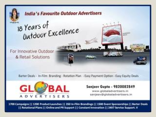 Innovative Poles Advertising in Mumbai - Global Advertisers
