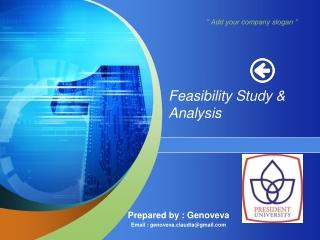 Feasibility Study & Analysis