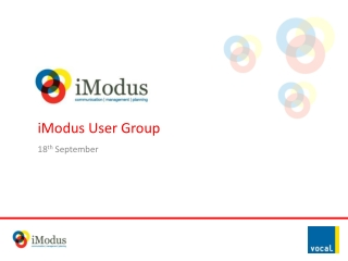 iModus User Group