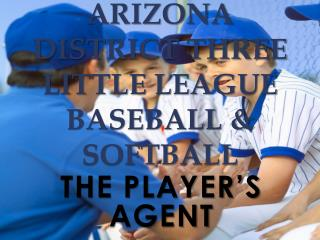 Arizona District Three Little League Baseball & Softball