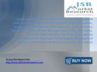 JSB Market Research: Cyber Security Market: