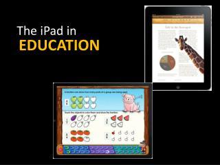 The iPad in