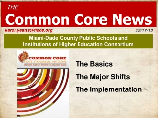 Miami-Dade County Public Schools and  Institutions of Higher Education Consortium