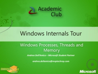 Windows Internals Tour