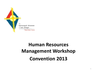 Human Resources Management Workshop Convention 2013