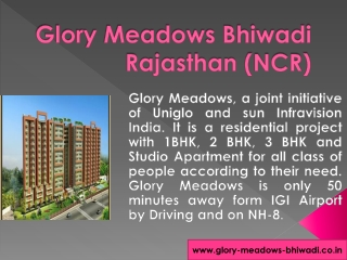 Glory Meadows Bhiwadi