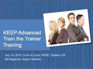 KEEP Advanced  Train the Trainer Training