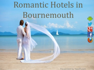 Romantic Hotels in Bournemouth