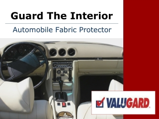 Automobile Fabric Protector
