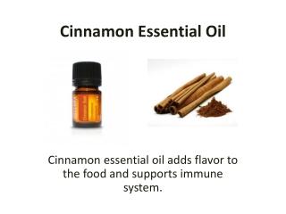 Buy Cinnamon Essential Oil