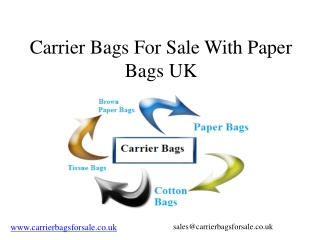 Carrier Bag Company For Paper Bags Collection
