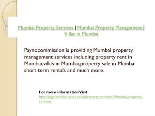 Mumbai Property Services | Mumbai Property Management | Vill