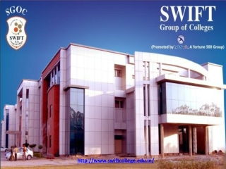 Top College in Punjab | Swift College