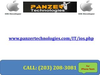 IOS Development India - Panzer Technologies