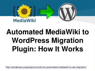 Automated MediaWiki to WordPress Migration Plugin: How It Wo