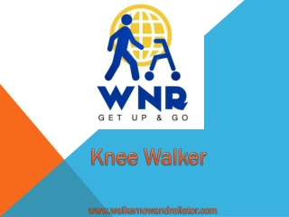 Everything about a knee walker