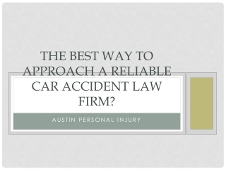 How Do You Prove You've Been Injured In A Car Accident?