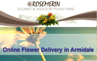 Online Flower Delivery in Armidale