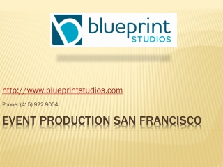 Corporate Event Design Planners in San Francisco, San Jose